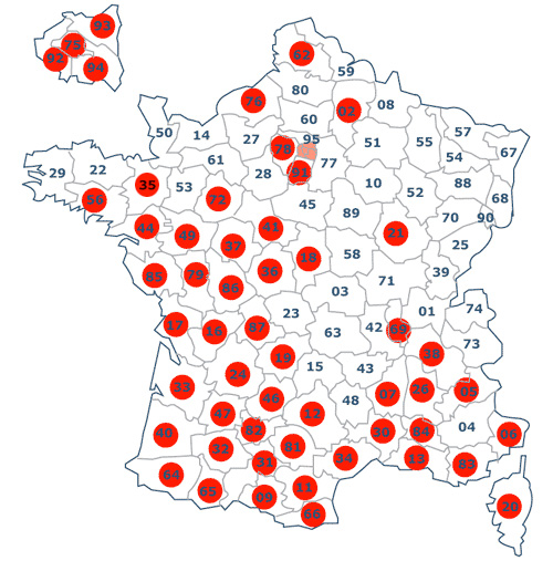 """Résultat de recherche d'images pour """"carte zone termites"""""""